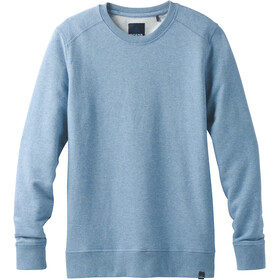 Prana Asbury LS Crew Shirt Herr sunbleached blue heather
